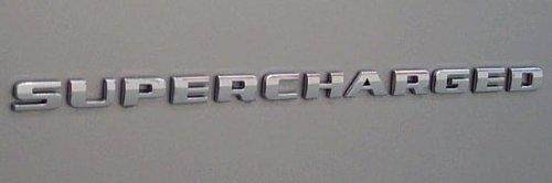 - GM 15810646 Supercharged Emblems