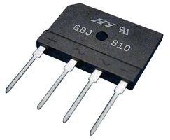 MICRO COMMERCIAL COMPONENTS GBJ1006-BP BRIDGE RECTIFIER, 10A, 600V (1 - Parts Of Component Bridge