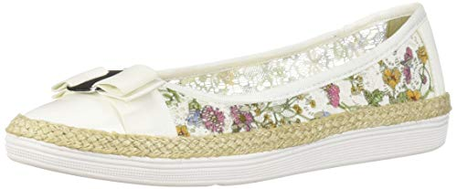 Soft Style by Hush Puppies Women's Fagan Ballet Flat, Wildflower Lace,07.5 M US