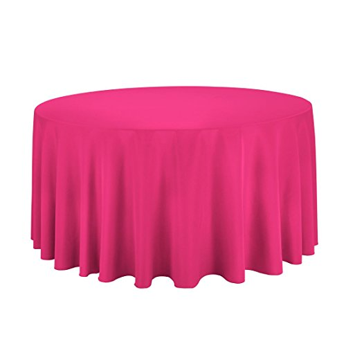 "Gee Di Moda Round Tablecloth - 132"" Inch - Round Table Cloth"