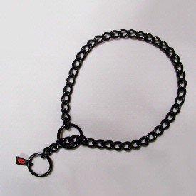 Herm Sprenger Stainless Steel Choke Collar, 22 inches x 2.5 millimeters, Black