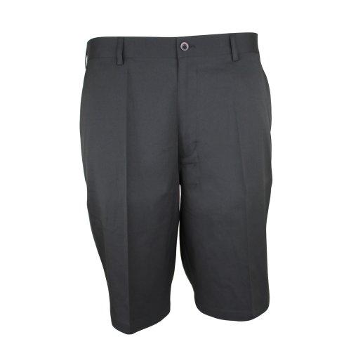 Palm Springs Golf Men's Dryfit Flat Front Shorts, 38, Black
