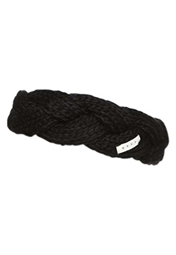 Neff Women's Bando Cable-Knit Headband, Black, One Size