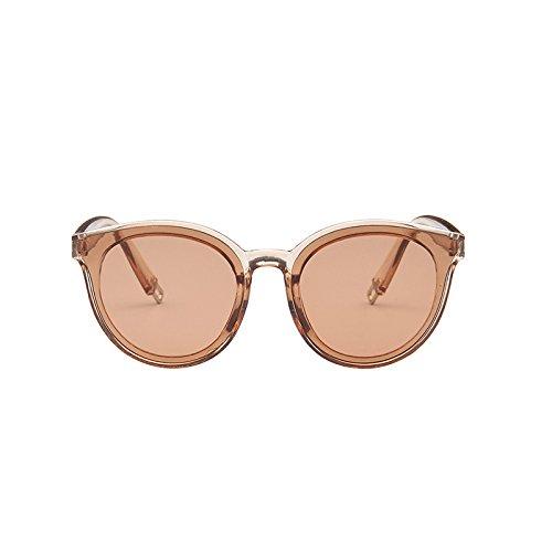 Moda Gafas Gafas Sol Hombres Femeninas Sunglasses de de de Champagne Sol Coreana Tea Tendencia de Tea Sol Gafas Color Champagne xn8wqwf17