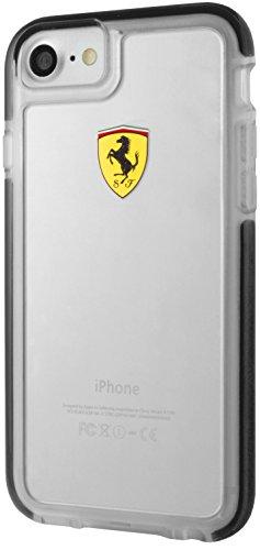Ferrari Hard Case for iPhone 7 and iPhone 8 (Shockproof - Transparent - Ferrari Case