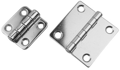 Sea Dog 201582-1 Stainless Steel Butt Hinge, 2 x 2-Inch by Sea Dog Line