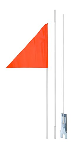Burley Flag - Diamondback Safety Flag, 6-Feet, Orange