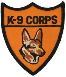 U.S. Army K-9 Corps Patch (Us Army Corps Patch)