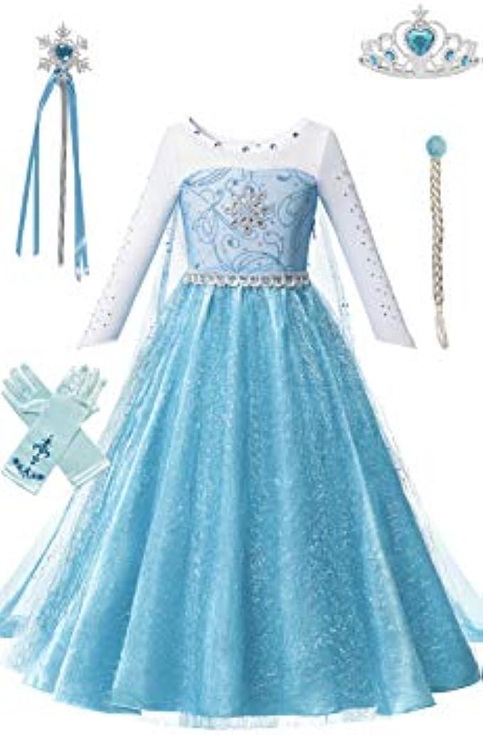 Ice Princess Costume Dress Set for Girls