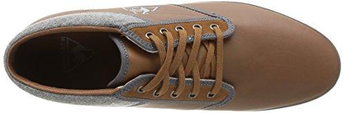 Le Coq Sportif Brancion Lea Felt Herren Sneaker Braun - Marron (Charcoal)