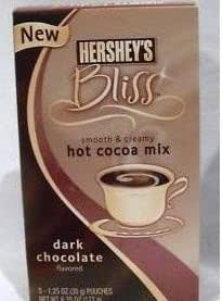 Hershey's Bliss Hot Cocoa Mix Dark Chocolate Flavored