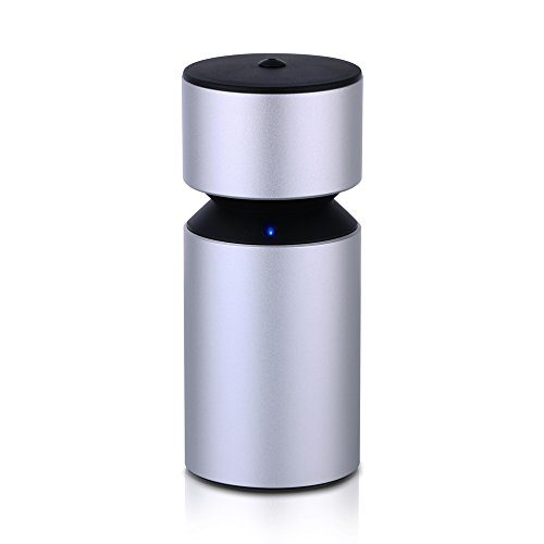 USB Car Essential Oil Nebulizer Diffuser Ultrasonic Aromatherapy Aroma Diffuser with USB Rechargeable Battery Touch Switch for Home Office Vehicle (Touch Standard Battery)