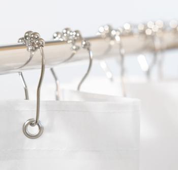 shower curtain rings,roller rings,easy roll curtain rings,curved shower rod shower rings,shower ring