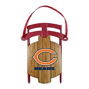 NFL Chicago Bears Football Sled Ornament