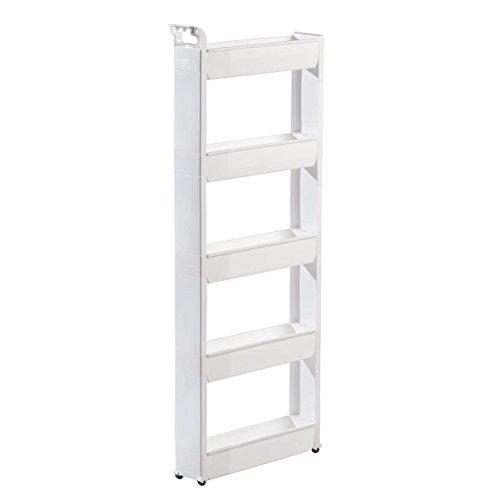(Slim Storage Cart 5 Tier)