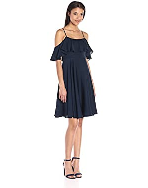 Women's Stretch Silk Crepe Emmaline Dress