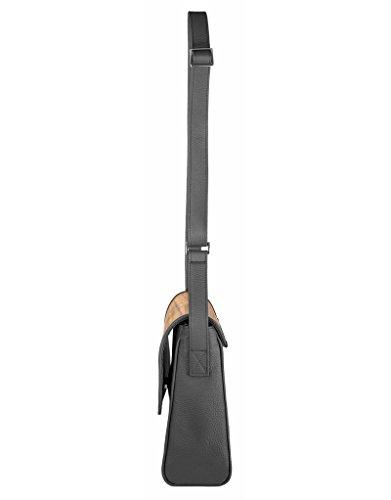 SEBASTIAN STURM Bolso bandolera, negro (multicolor) - 1060.01.02