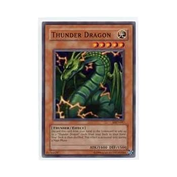 Yu-Gi-Oh! - Thunder Dragon (MRD-097) - Metal Raiders - Unlimited Edition - Common
