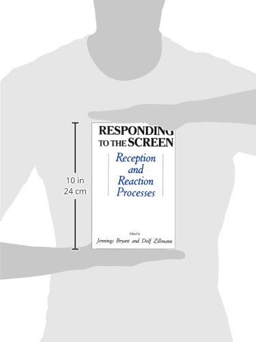 Responding To the Screen: Reception and Reaction Processes (Routledge Communication Series)
