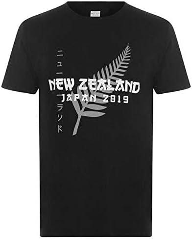 ラグビーワールドカップ2019日本大会記念ニュージーランド オールブラックス Tシャツ Mサイズ 英国直輸入