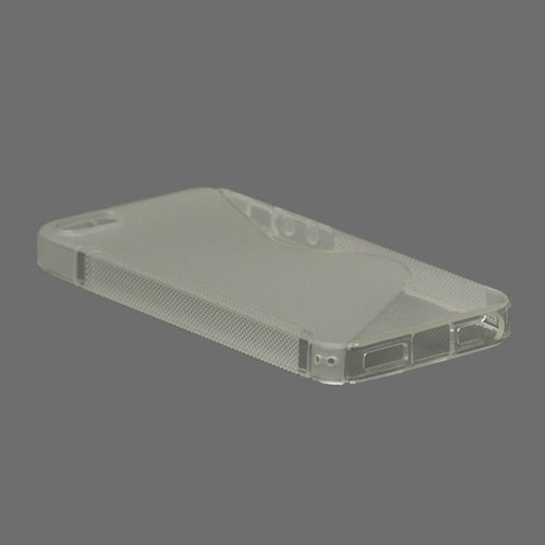 iProtect  Schutzhülle iPhone 5 / 5s Hardcase S-Line transparent