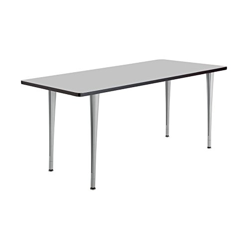 Rumba™ Tables, Fixed Post Leg Table with Glides, 72 x 24