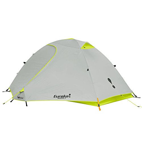 Eureka Midori 2 Person Waterproof Backpacking Tent, Lime/Grey
