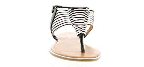 Apache Tatum Womens Ladies Flat Sandals Black - Black - UK Sizes 3-9 vf83bC