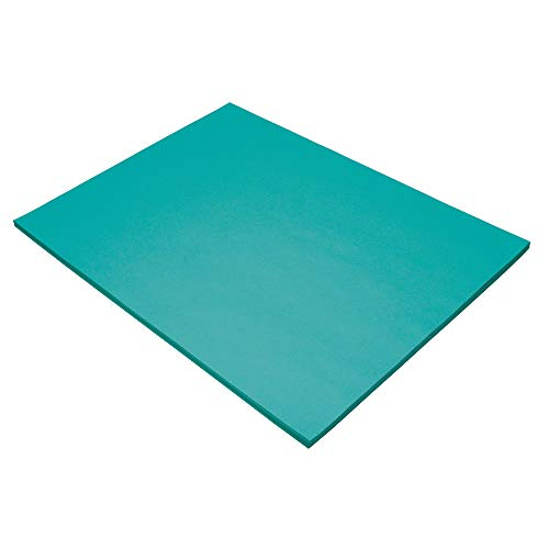 (Pacon Tru-Ray Construction Paper, 18-Inches by 24-Inches, 50-Count, Turquoise (103071))