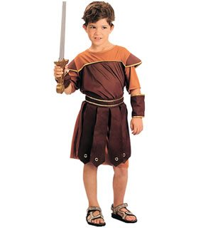 Medium Boys Roman Soldier Costume