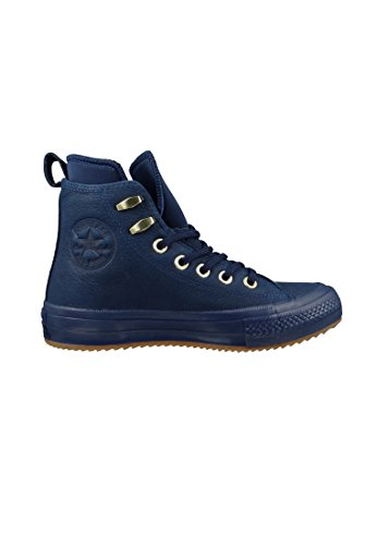 Brown 134478C Midnight Mid Leather Converse Midnight Boot Navy Pinecone fodera Navy x0w11YqXnA