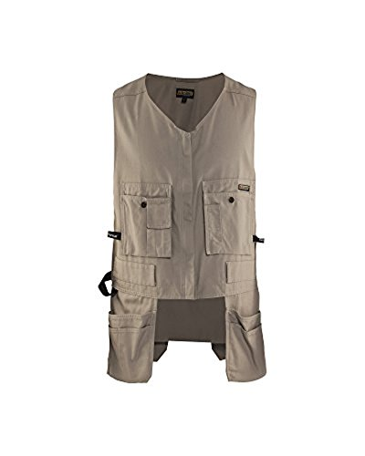 Blaklader Bantam Kangaroo Vest Stone M & Work Bandana Bundle