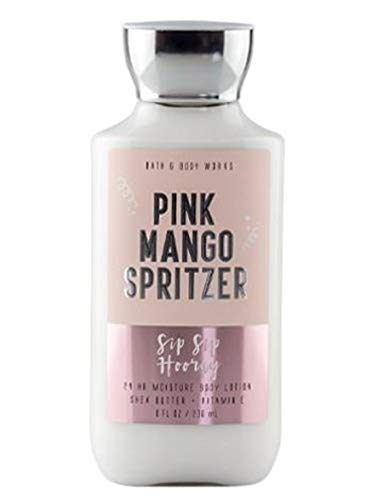 Bath and Body Works Pink Mango Spritzer - Sip Sip Hooray - 8 oz Body Lotion (Iced Mango, Cranberry, Pomegranate, Fir Balsam)