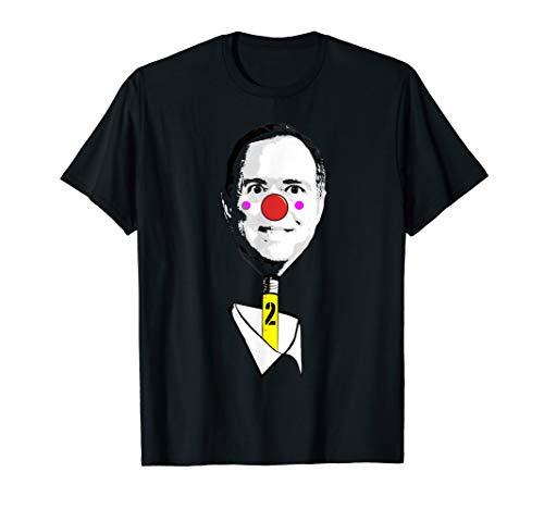 Pencil neck adam schiff tee shirt for 2020 campaign rallys ()