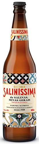 Cachaca Salinissima 600Ml Salinas Sabor