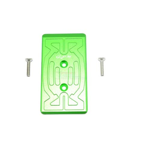 Part & Accessories 1/8 ARRMA RC Cars Nero/FAZON Alloy Rear Chassis Protection Plate Toys - (Color: Green)
