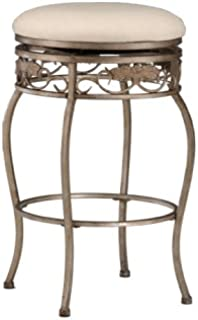 Hillsdale Bordeaux 26-Inch Backless Swivel Counter Stool Pewter with Bronze Finish Off  sc 1 st  Amazon.com & Amazon.com: Hillsdale Lincoln 26-Inch Backless Swivel Counter ... islam-shia.org