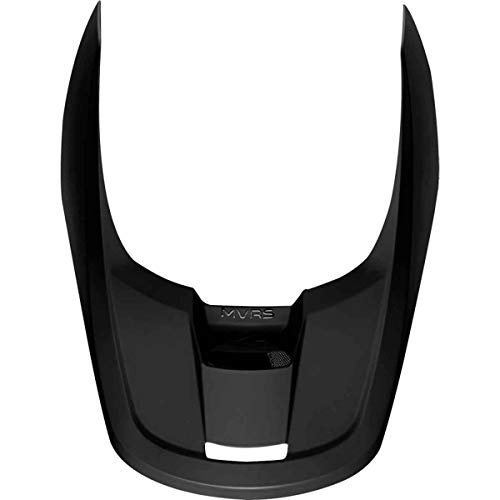 Fox Racing 2019 V1 Helmet Visor - Matte (X-Small/Small) (Matte Black)