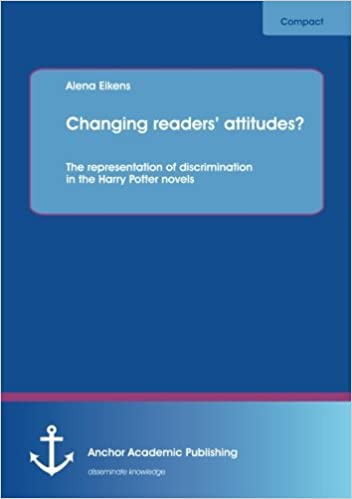 Book Changing Readers' Attitudes? the Representation of Discrimination in the Harry Potter Novels