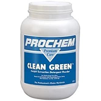 Prochem - Clean Green - Carpet Cleaning Extraction Detergent - Powder - 1 Tub S777