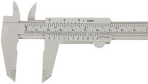 W-SHTAO 150mm Aperture Depth Diameter Vernier Caliper Measure Woodworking Metalworking Plumbing Model Making Tool DIY Tool