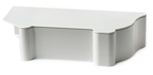 PlastxUSA PLX-BBCSWT Better Baseboard Cover Complete Left/Right End and Snap Cap, ()