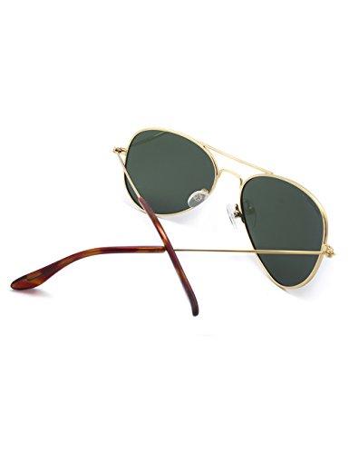 Aviator Face Uv400 Metal Women Sunglasses Men Teenager Small Frame ...