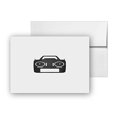 Transmitter Flyer Radio Messages Fpv, Blank Card Invitation Pack, 15 cards at 4x6, with White Envelopes, Item 851788