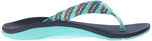 Orange Steps US Chaco Aqua Women's Ecotread Sandal Athletic Flip XaaBvq4wz