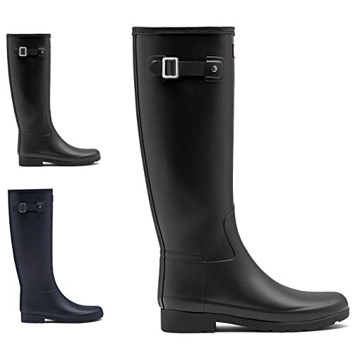 Image of Womens Hunter Original Refined Waterproof Snow Wellingtons Rain Boots