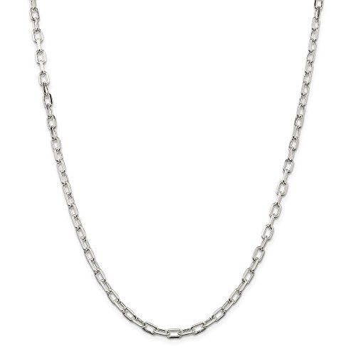 (925 Sterling Silver Link Cable Bracelet Chain 7 Inch Fine Jewelry Gifts For Women For Her)