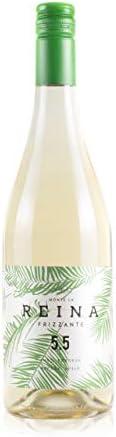 Vino Frizzante, vino blanco verdejo - Tempranillo- Con un Sabor Suave, Agradable y Vivo I Espumoso – Semidulce - VINO FRIZZANTE REINA (CAJA 6 BT 5,5)