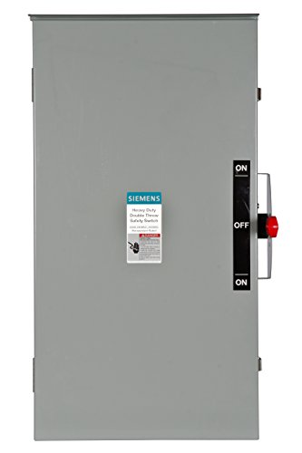 Siemens DTNF224R 200-Amp, 2 Pole, 240-volt, 2W Non-Fused Double Throw, Type 3R by Siemens