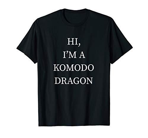 Last Minute Costume Ideas For Boys (I'm a Komodo Dragon Halloween Shirt Funny Last Minute)